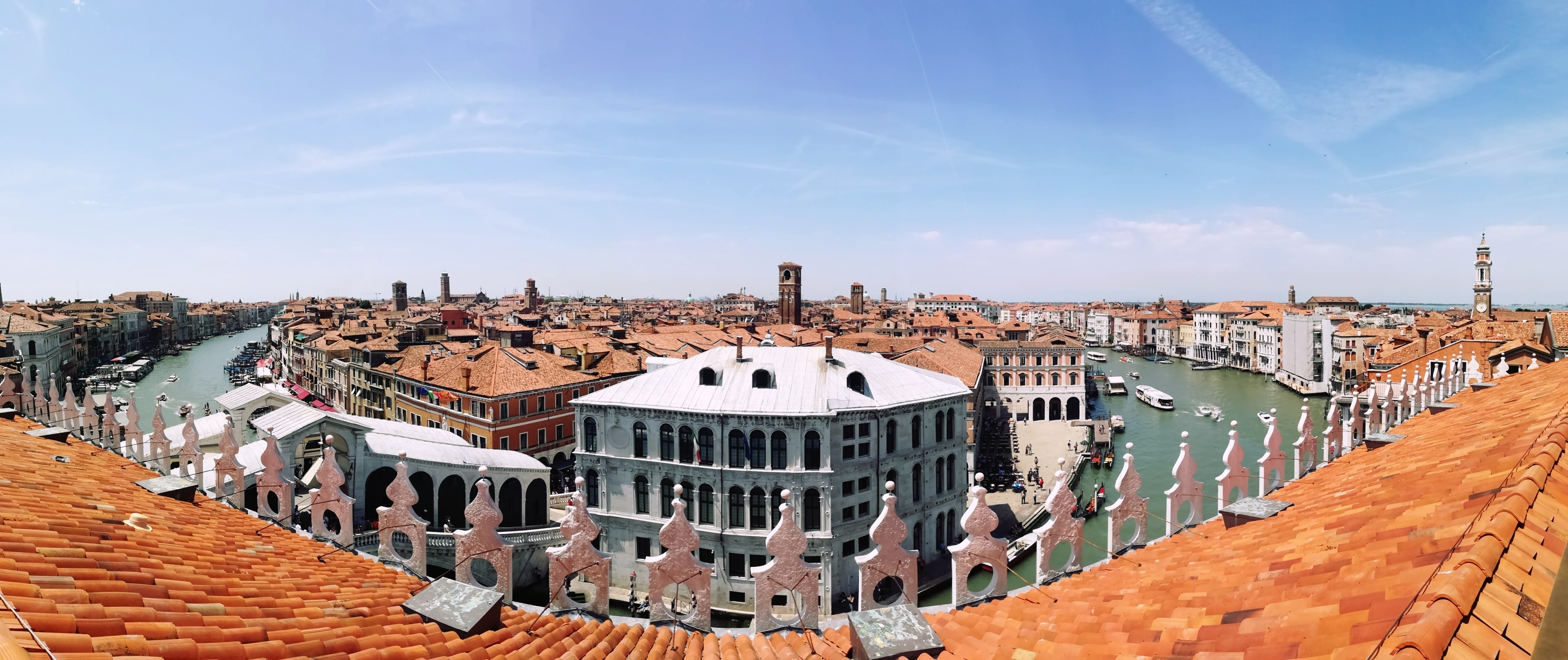 Meeting Venice Visit To The Fondaco Rooftop Terrace