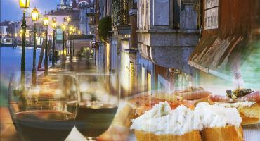 Cichetti & Gondola Serenade in Venice